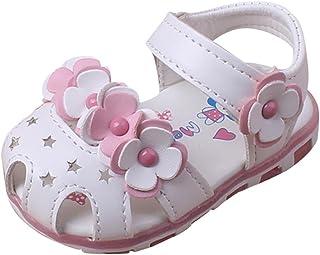 a77b25477ee2 Fabal Fashion Causal Baby Sandals Summer Flower Soft Bottom Child Girls  Sandal Shoes