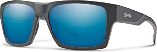 Smith Outlier 2 XL Chromapop Polarized Sunglasses, Matte Charcoal, Chromapop Polarized Blue