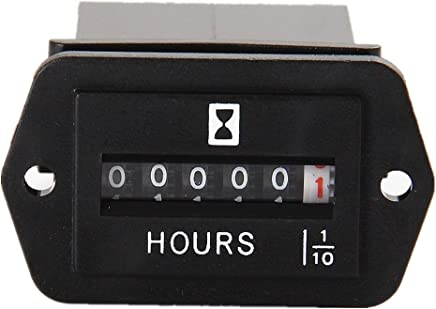 Sunluway Universal Hour Meter Mounting Bracket Black for Honda Generators EU1000I EU2000I /& EU2200I