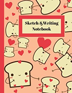 Sketch & Writing Notebook: Sketch Notebook for Drawing, Writing, Painting, Sketching