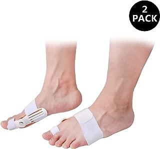 Bunion Corrector Big Toe Separators Straightener for Bunion Relief,Hallux Valgus Splint Corrector for Women & Men(Unisex),2 pcs