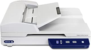 Xerox XD-Combo Duplex Combo Flatbed Document Scanner for PC and Mac, Automatic Document Feeder (ADF)