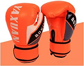 Adult Professional Sanda Boxsack Trainingshandschuhe 10oz Firma Orange M/änner und Frauen Boxhandschuhe Jiansheng01-ou Boxhandschuhe
