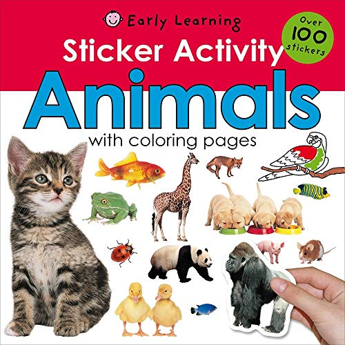 Sticker Activity Animals (Sticker Activity Fun)
