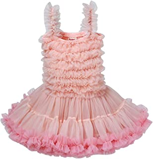 Fairy Baby Baby Girls Tutu Princess Birthday Dress Kid Pageant Party Wedding Pettidress