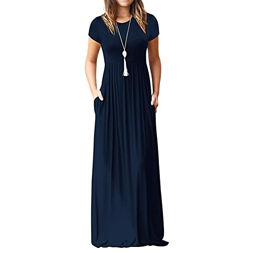 Womens Plus Maxi Full-Length T-Shirt Dress Style /& Co