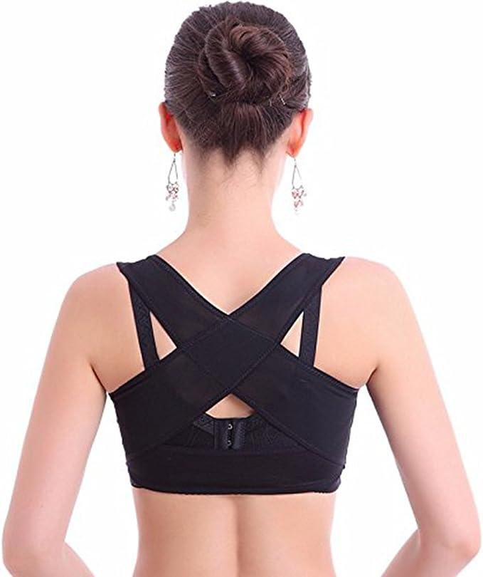 RTDEP Soutien-gorge correcteur de posture pour femme Contre le dos rond