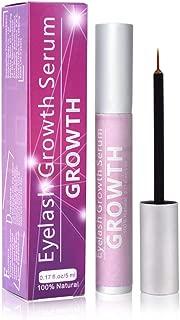 Eyelash Growth Serum Natural Brow & Lash Growth Enhancer Make Your Eyelash Fuller Thicker and Longer Lash Rapid Growth Serum