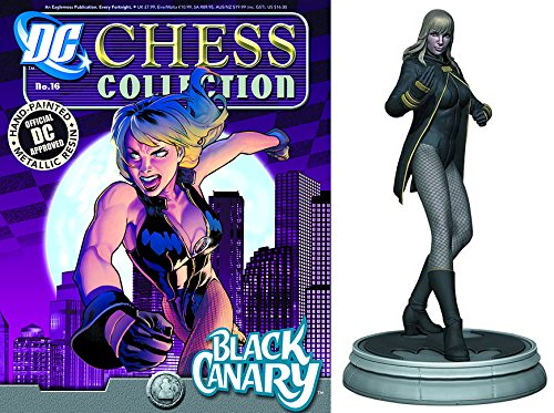 dc comics Chess Figurine Collection Nº 16 Black Canary