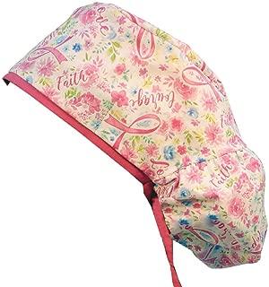 Big Hair Women's Scrub Cap - Pink Ribbon Inspiration