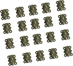 90 Bronze Vert MagiDeal 10pcs Cadre Etiquette Antique Porte-/étiquette Fer Poign/ée Meuble pour Tiroir Cabinet Armoire 43mm