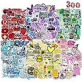 300PCS Pegatinas VSCO Girl Resistentes al Agua Stickers , Pegatinas Modernas Para Bicicleta, Monopatín, Snowboard, Equipaje, Portátil, MacBook iPad y Más