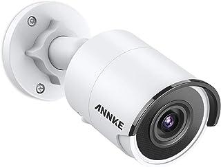 Annke - Cámara de vigilancia para Exteriores e Interiores (Ultra HD 8 Mpx H.265 compresión de vídeo 30M EXIR visión Nocturna IP67 con Sensor de Movimiento)