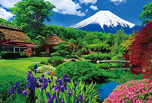 300ピース 大きく飾れる 大画面ジグソーパズル 世界遺産 忍野富士 ラージピース(49x72cm)