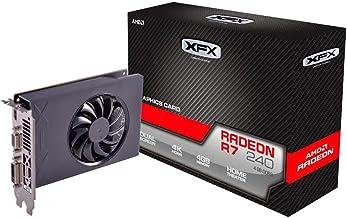 XFX AMD Radeon R7 240 4GB DDR3 VGA/DVI/HDMI Graphics Card (R7-240A-4NFR)