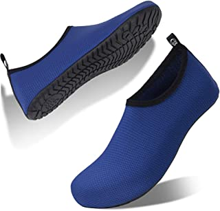 Mens Womens Water Shoes Beach Shoes Swimming Shoes Barefoot Quick-Dry Snorkeling Surfing Diving Aqua Socks