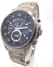(シチズン)CITIZEN エコドライブ 電波 AT9080-57L 腕時計 ステンレススチール/サファイアガラス メンズ 中古