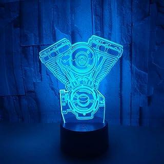 Nouvelle décoration de caméra 3D Noël Night Light Changement de Couleur Petits luminaires 3D Décorations de la Chambre des...