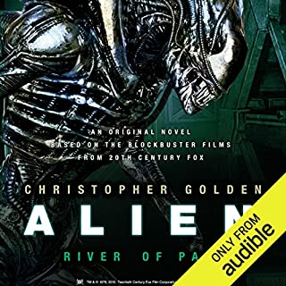 Page de couverture de Alien: River of Pain