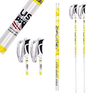 Ski Poles - Zipline Graphite Hybrid Composite Podium 16.0 K - U.S. Ski Team Official Supplier