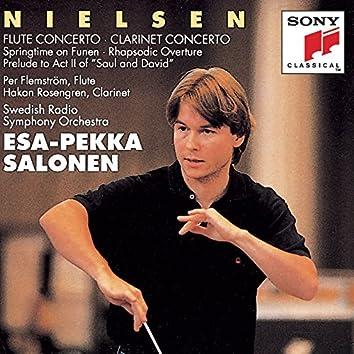 Nielsen: Flute Concerto & Clarinet Concerto, Op. 57 & Springtime on Funen, Op. 42