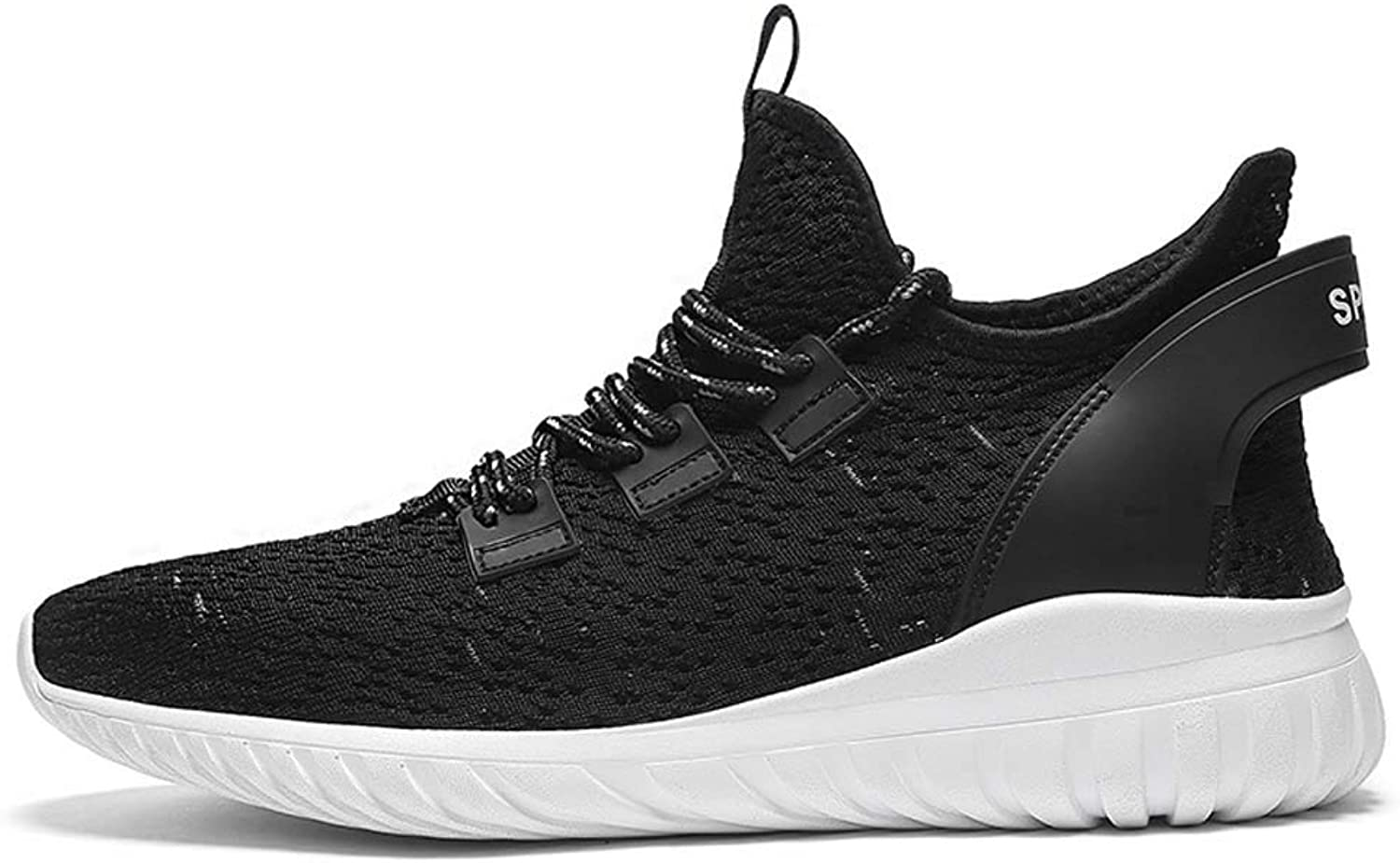 MSSugar Men Casual Sports shoes Running Sneakers Breathable Trainers Fitness Athletic Walking Gym shoes
