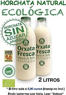 2 L. Horchata Natural Ecológica Sin Azúcar Món Orxata