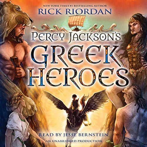 Percy Jackson's Greek Heroes cover art