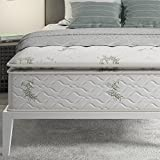 Signature Sleep 13-Inch Hybrid Coil Mattress, Queen White