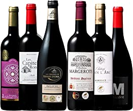 マイワインクラブ 全て金賞受賞 フランス飲み比べ ワインセット 赤ワイン 750ml 6本…