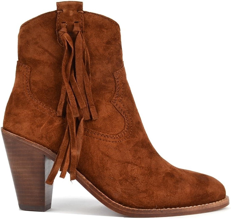 Ash Footwear Stella Sigaro 'braun' Suede Tassel Ankle Stiefel Stiefel Stiefel  e9479f