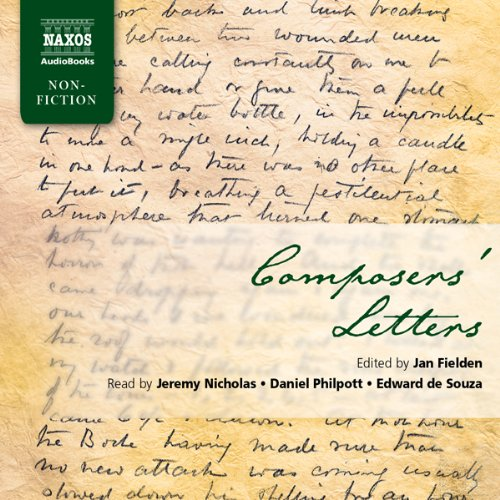 Composers' Letters audiobook cover art