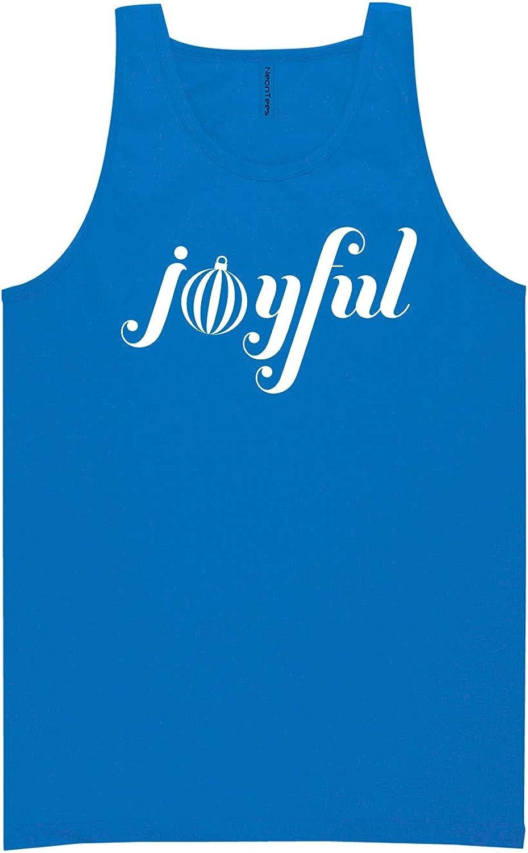 zerogravitee Joyful Neon Blue Tank Top - XX-Large