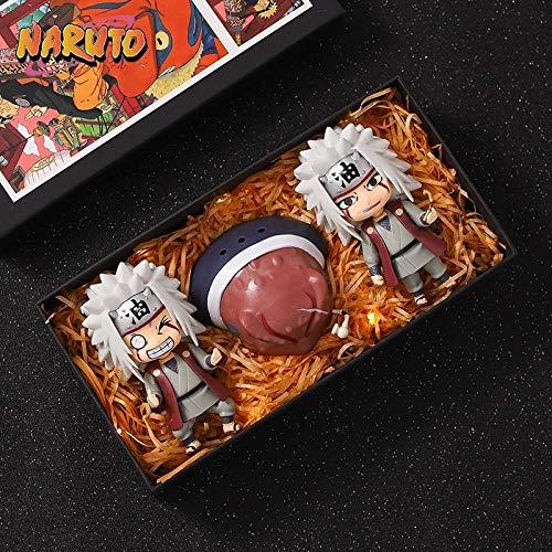 N / A A Granel Auténtico Naruto Pase De Viento Bandera Juvenil De Madera Casey Parker Psíquico Ninja Mano-hy-210-q Versión 3 Jiraya [OPP Bag + Base Propia Colección]. Amigo Regalo Regalo Modelo