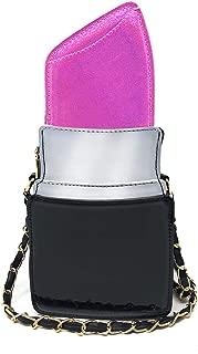 Lipstick Shape Design Crossbody Bag, Ustyle Evening Shopping Street Shoulder Bag Cell Phone Women Girl Cute Party Purse
