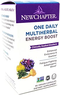New Chapter One Daily Multi Herbal Energy Boost, 30 Capsules