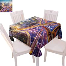 Zara Henry City Tablecloths Highways in Shanghai China Home Outdoor Rectangular Tablecloth W50 xL50