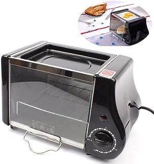 ZBHGF - Mini cocina eléctrica para panadería, horno y parrilla de huevos fritos, omelato pequeño 1,5 l mini horno pequeño para desjuvenecer panera