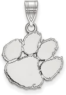 Sterling Silver LogoArt Alpha Chi Omega Medium Pendant