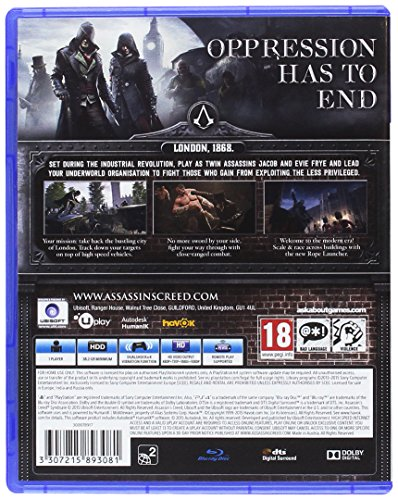 Assassins Creed Syndicate (Sony PS4)