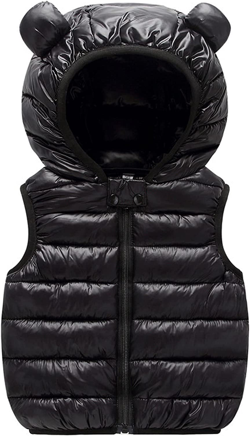 ZXCC Spring new work one after another Winter Down Oklahoma City Mall Coat for Kids Baby Sleeveless Boys Girls Cartoo
