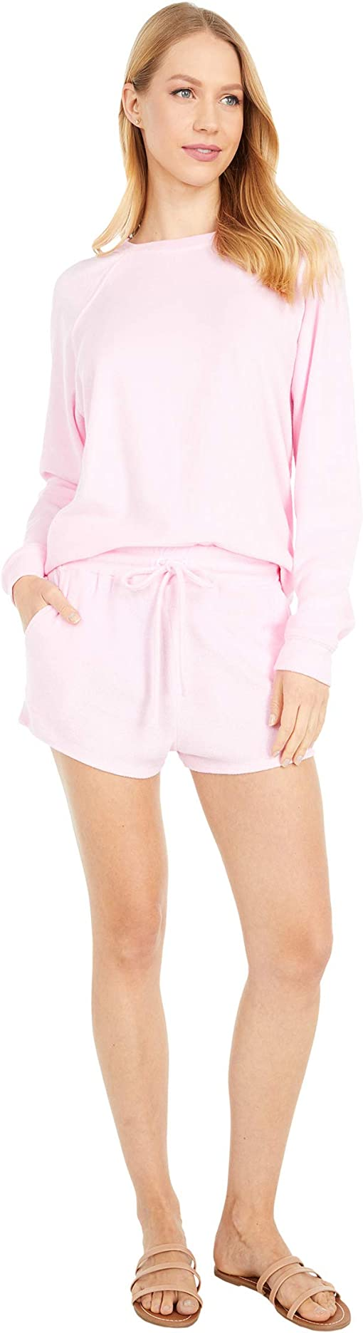 INFITTY Womens Tie Dye Printed Short Pajamas Set Short//Long Sleeve Tops and Shorts Pj Sets Loungewear Sleepwear Nightwear