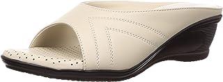 Liberty Senorita Women's LAF-911 Beige Slippers - 39(5004711163390)