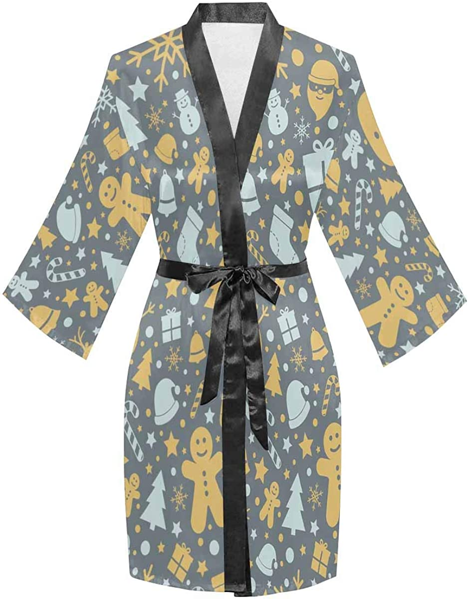 InterestPrint Women's Long Mail order cheap Sleeve New popularity Kimono Cover Casual Wed for Up
