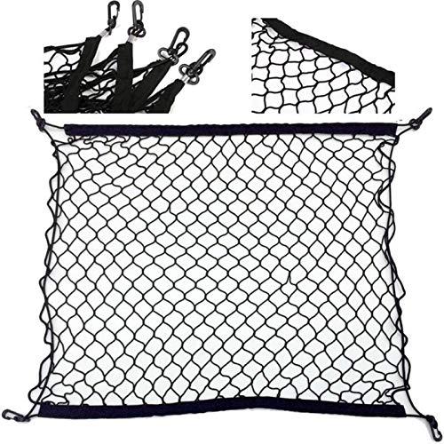 Red Maletero De Coche 90 * 60 70 * 70 cm estilo de bota de estilo de malla de malla de nylon trasero trasero trasero de carga Organizador de almacenamiento de equipaje Titular de la red de equipaje Re