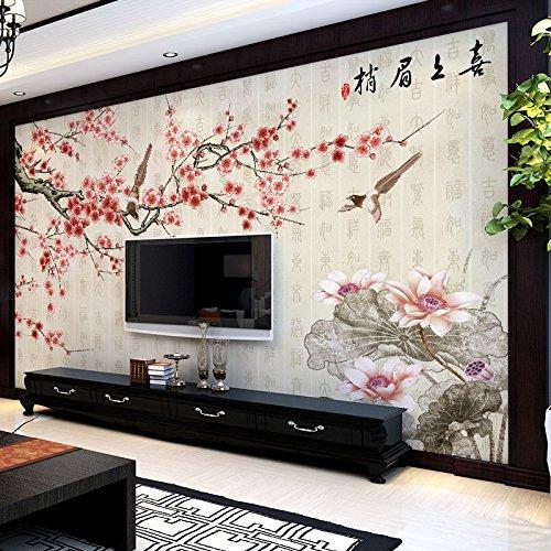 LZK Tapetenwandhintergrundwandbildschlafzimmer-Wohnzimmer-nahtloser Wandtuch des Wandhintergrundes des Wandhintergrundes des modernen Fernsehhintergrundes der Tapete 3D modernes chinesisches,D,1