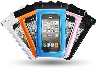 """Theoutlettablet® Funda acuática Sumergible de protección para Smartphone Wolder Mismart Smile Baby 4"""" Color - Rosa (Mod:S-410)"""