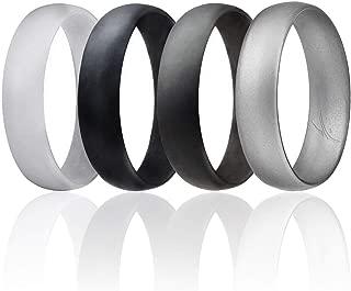 5mm silicone wedding band
