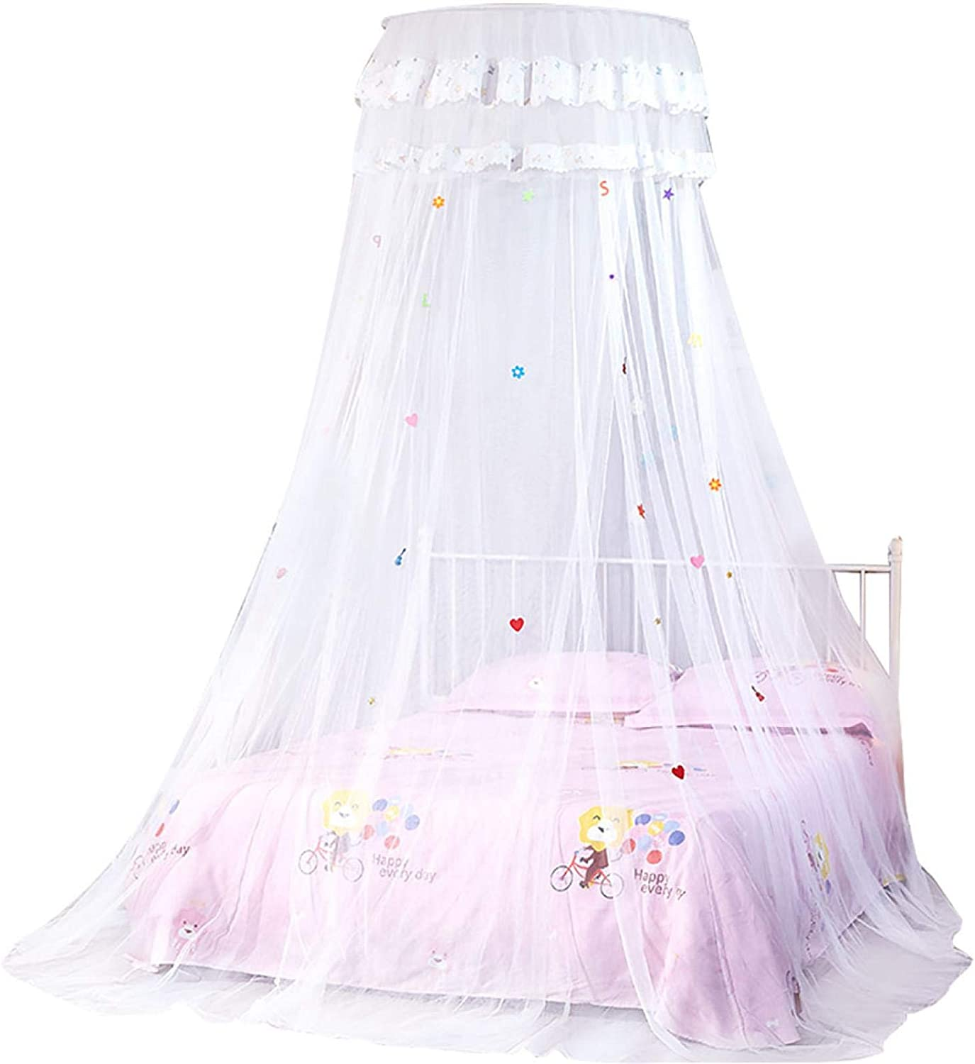 Cryfokt Genuine Free Shipping Mosquito Net 360 Degree Lace Canopy Round Princess Raleigh Mall Styl