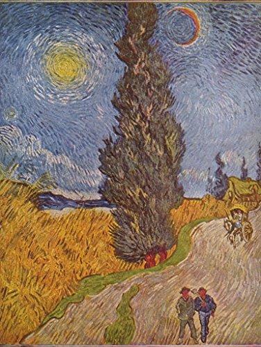 Lais Puzzle Vincent Willem Van Gogh - Strada di Campagna con cipressi 1000 Pezzi